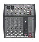 Phonic AM220 Keverőpult, 2 Monó/2 Sztereó csatorna