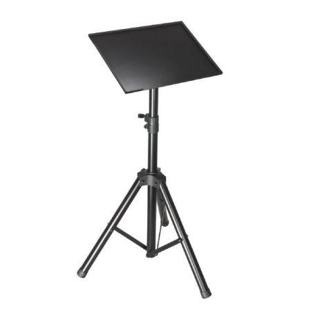WorldMix AS - SLT003 laptop állvány és projektor állvány – háromlábú, fekete