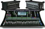 Allen & Heath SQ-6 digitális keverő + dupla DX168 bővítő stage box