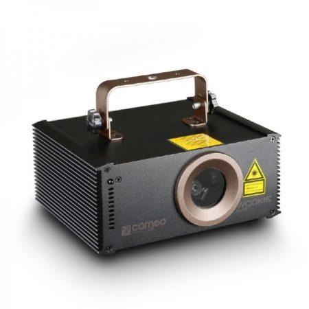 Cameo Light animációs lézer – 200 mW, R színfelbontás