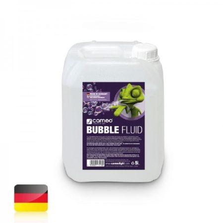 Cameo Light Bubble Fluid – speciális folyadék buborékfújó gépekhez szappanbuborék létrehozására, 5 liter