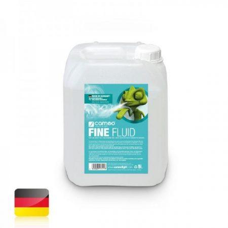 Cameo Light Fine Fluid – füstgépekbe való folyadék nagyon sűrű ködhöz, nagyon hosszú szétoszlási idővel, 5 liter