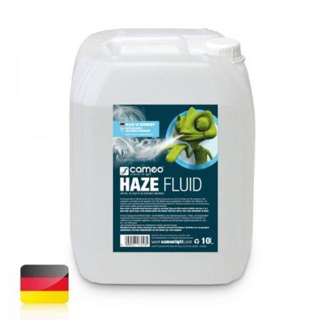 Cameo Light Haze Fluid – ködgépekbe (hazer) való folyadék finom ködhöz, hosszú szétoszlási idővel, 10 liter, olajmentes