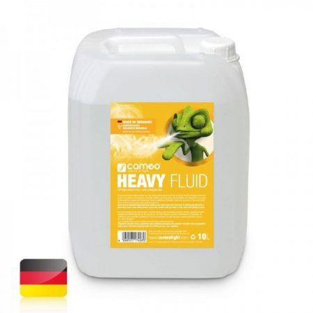 Cameo Light Heavy Fluid – füstgépekbe való folyadék nagyon sűrű füsthöz, nagyon hosszú szétoszlási idővel, 10 liter