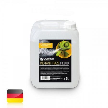 Cameo Light Instant Haze Fluid – ködgépekbe (hazer) való folyadék finom ködhöz, hosszú szétoszlási idővel, 5 liter, olajmentes