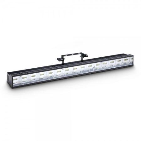 Cameo Light LED Flash BAR 150 – 15x6 W fehér LED, 3 az 1-ben stroboszkóp, sokkoló és súrolófény