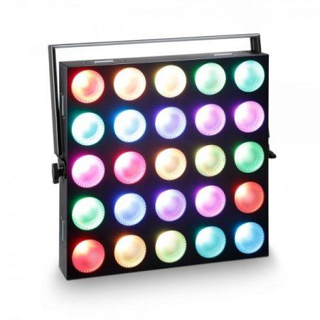 Cameo Light LED Matrix Panel – 5x5-ös 10 W-os RGB LED mátrix, single pixel controllal