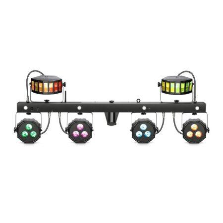 Cameo Light LED Multi FX Bar, 3 az 1-ben fény effekt – minden egyben megoldás 3 fényeffekttel mobil DJ-knek, zenekaroknak, előadóknak