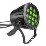 Cameo Light LED Outdoor PAR TRI 12 IP65 – 12x3 W-os háromszínű RGB LED, kültéri (IP65) kivitel, fekete