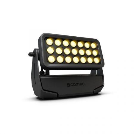 Cameo Light LED Outdoor Zenit ZB 200 professzionális – akkumulátorról működő, 21x15 W RGBW Cree LED, W-DMX™, IP65 minősítés, fekete ház
