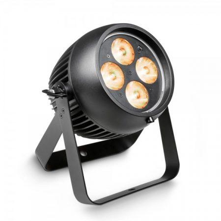 Cameo Light LED Outdoor Zenit ZP 130 professzionális zoom PAR lámpa – 130 W-os 4x32 W RGBW LED, kültéri (IP65) kivitel, fekete
