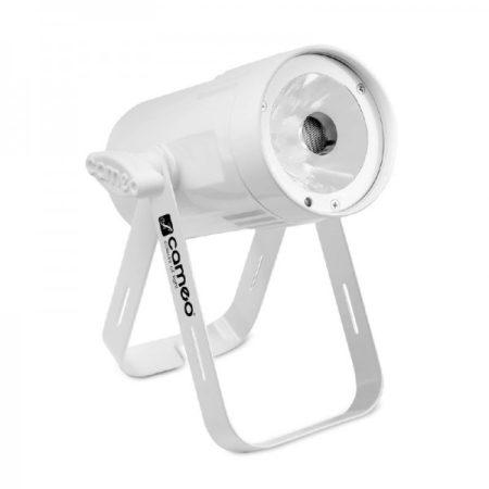 Cameo Light LED Q-Spot 15 – kompakt spotlámpa 15 W-os RGBW LED-del, fehér házban