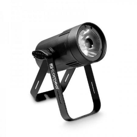Cameo Light LED Q-Spot 15 – kompakt spotlámpa 15 W-os RGBW LED-del, fekete házban