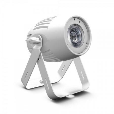 Cameo Light LED Q-Spot 40 – kompakt spotlámpa 40 W-os melegfehér fényű LED-del, fehér házban