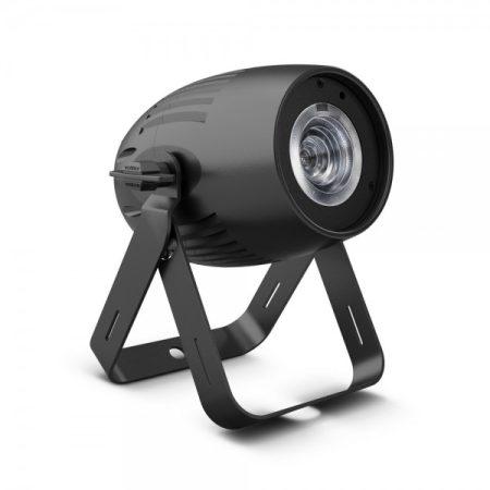 Cameo Light LED Q-Spot 40 – kompakt spotlámpa 40 W-os melegfehér fényű LED-del, fekete házban