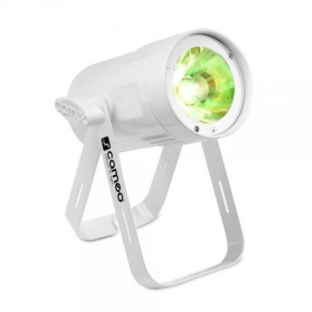 Cameo Light LED Q-Spot 15 – kompakt spotlámpa 15 W-os melegfehér fényű LED-del, fehér házban