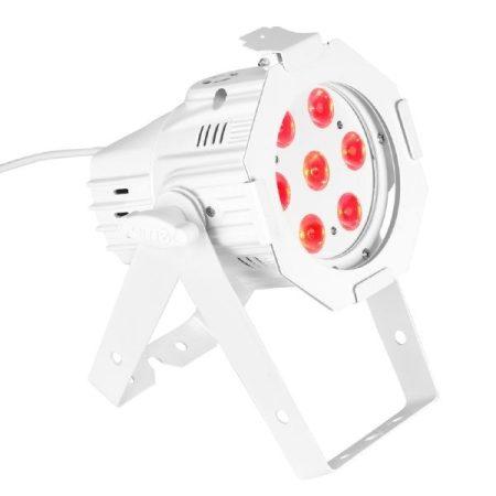 Cameo Light LED Stúdió MiniPAR – 7x8 W-os négyszínű RGBW LED, fehér ház
