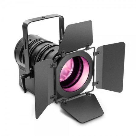 Cameo Light LED színházi spotlámpa PC lencsével – 60 W-os RGBW LED-del, kézi zoommal, fekete házban