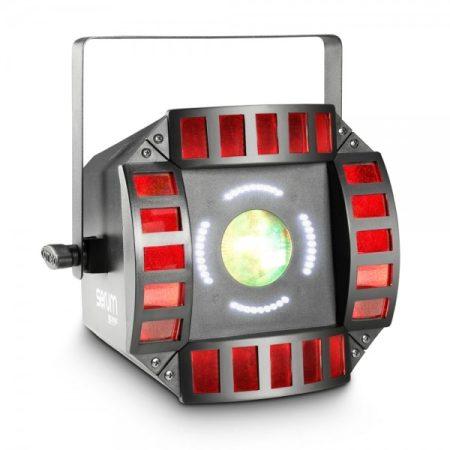Cameo Light LED Storm, 3 az 1-ben fény effekt – derby, moonflower, stroboszkóp effekt