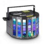 Cameo Light LED Superfly FX effekt – 5x10 wattos nagy fényerejű RGBWA LED