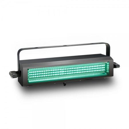 Cameo Light LED Thunder Wash – 132x0,2 W, RGB LED, 3 az 1-ben stroboszkóp, sokkoló és súrolófény