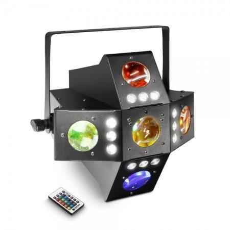 Cameo Light LED Voodoo effekt – 2 az 1-ben derby és stroboszkóp effekt lámpa