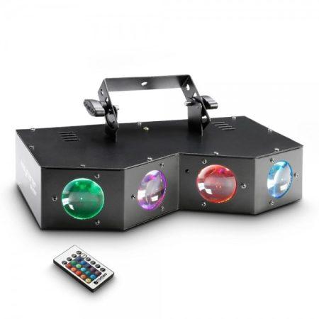 Cameo Light LED Wayfarer effekt – négyszemes derby matrix effekt lámpa 16x3 w_os RGBA LED-es, négyszemes derby matrix effekt lámpa