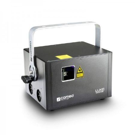 Cameo Light professzionális showlézer – 1000 mW, RGB színfelbontás