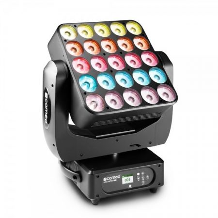 Cameo Light Moving Head AUROMATRIX 500 – 25x15 W-os RGBW LED-es mozgó matrix