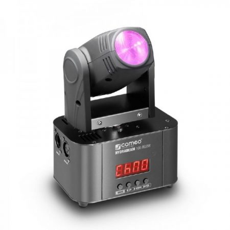 Cameo Light Moving Head HYDRABEAM 100 RGBW – 10 W, CREE RGBW LED-es ultra gyors robotlámpa