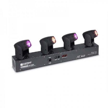Cameo Light Moving Head HYDRABEAM 400 RGBW – 4x10 W, CREE RGBW LED-es ultra gyors robotlámpa vezérlő sávon