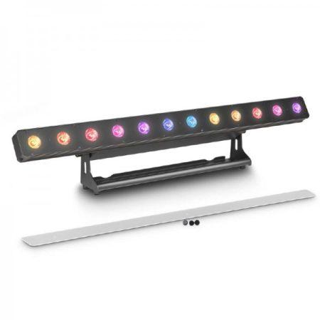 Cameo Light LED PIXBAR reflektor – professzionális 12x12 W-os RGBWA+UV LED sor, fekete