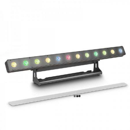 Cameo Light LED PIXBAR reflektor – professzionális 12x8 W-os RGBW LED sor, fekete
