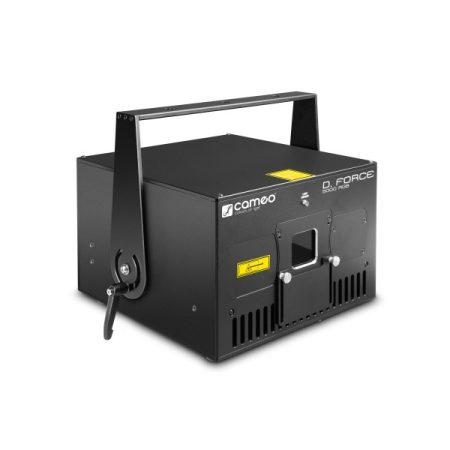 Cameo Light professzionális showlézer – 5000 mW, RGB színfelbontás