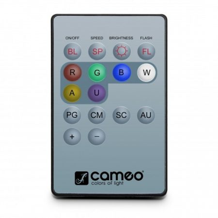 Cameo Light távirányító – infravörös távirányító Q-Spot reflektorokhoz