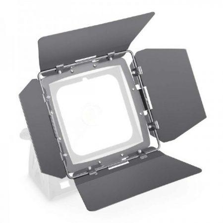 Cameo Light terelőlemez – LED FLAT PRO FLOOR lámpákhoz, 4 darab fekete fényterelő lappal