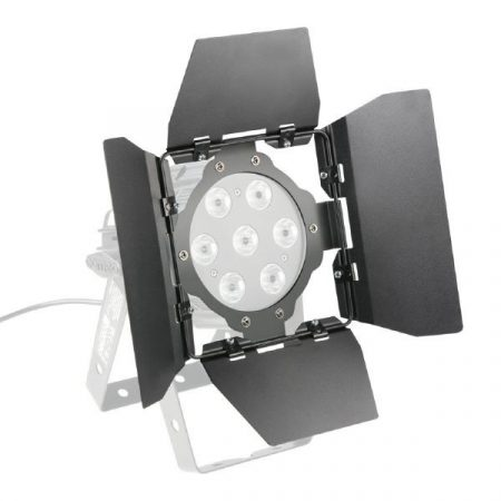 Cameo Light terelőlemez – LED Stúdió MiniPAR lámpákhoz, 4 darab fekete fényterelő lappal