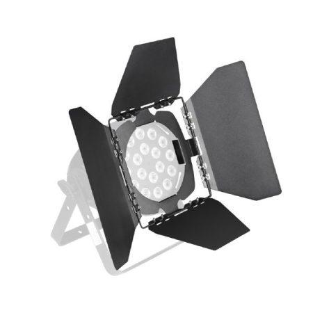 Cameo Light terelőlemez – LED Stúdió PAR lámpákhoz, 4 darab fekete fényterelő lappal