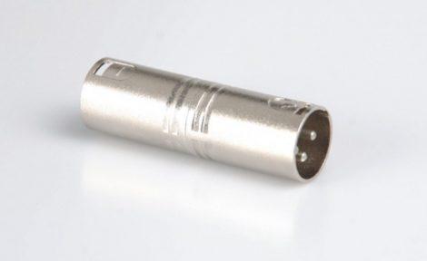 XLR papa átalakító – XLR3 dugó/XLR3 dugó