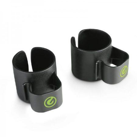 Gravity hangfalállvány kábeltartó – kábel rendező gyűrű 35 mm-es hangfalrúdhoz, fekete
