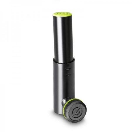 Gravity hangfalállvány adapter – 5 fokos dőlésszögű 35 mm-es hangfalállvány vég, fekete