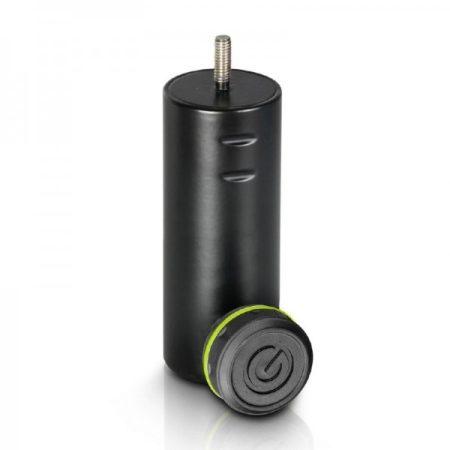 Gravity hangfalállvány adapter – 36 mm-ről M6-os csavarra illeszt, fekete