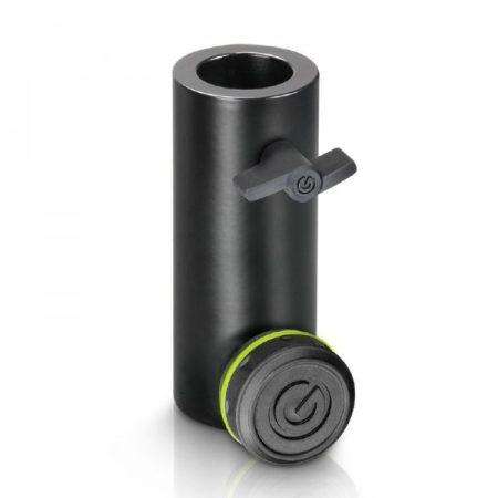 Gravity hangfalállvány adapter – 36 mm-ről TV28 csatlakozóra illeszt, fekete