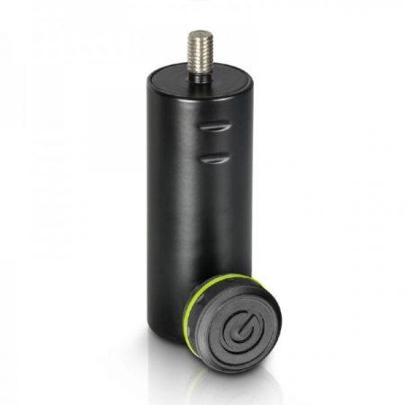 """Gravity hangfalállvány adapter – 36 mm-ről 3/8""""-os csavarra illeszt, fekete"""