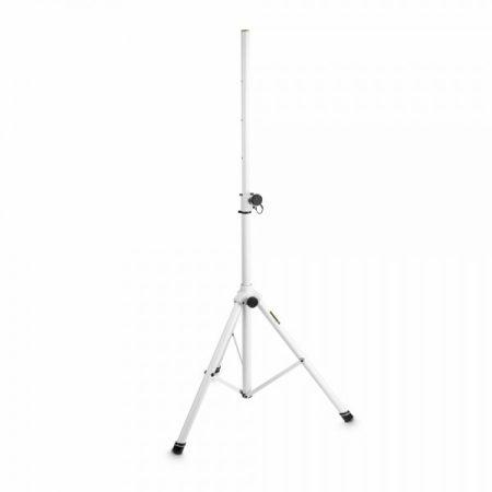 Gravity hangfalállvány – alumínium, 35 mm átmérőjű véggel, fehér