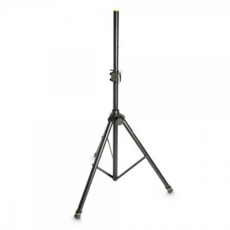Gravity hangfalállvány – acél, 35 mm átmérőjű véggel, fekete