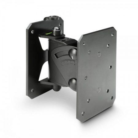 Gravity hangfaltartó, fali – dönthető, forgatható, terhelhetőség 20 kg, fekete
