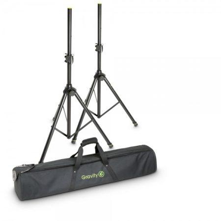Gravity hangfalállvány készlet – 2 darab G-SS5211B állvány, G-BGSS2B szállítótáskában
