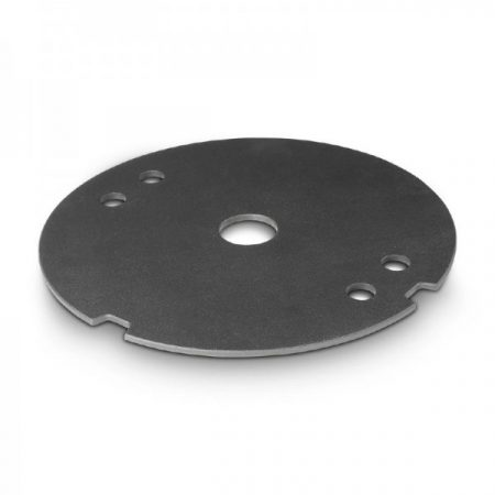Gravity hangfalállvány kiegészítő talp – öntöttvas súlytárcsa, 5 kg, fekete