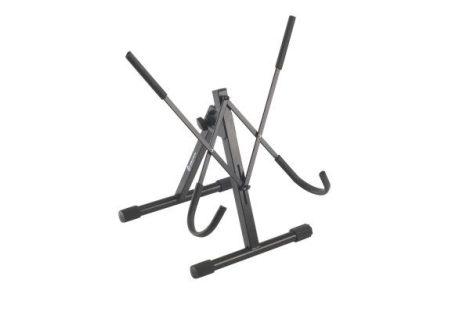 König & Meyer szouszafon-állvány – állítható gumi bevonatú karokkal, fekete